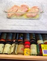 spices & prep