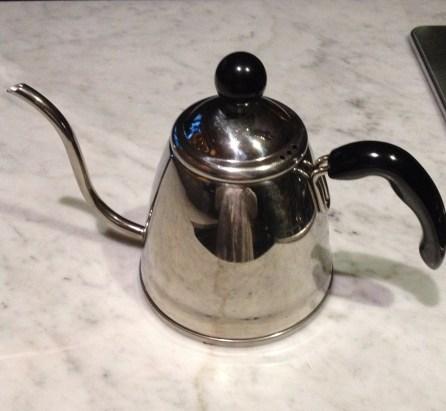 goose neck kettle