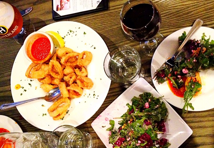 Appetizers at Dinotto are not to be missed.