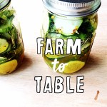 Photo of pickles in jars