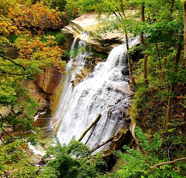 Long view of Brandwine Falls