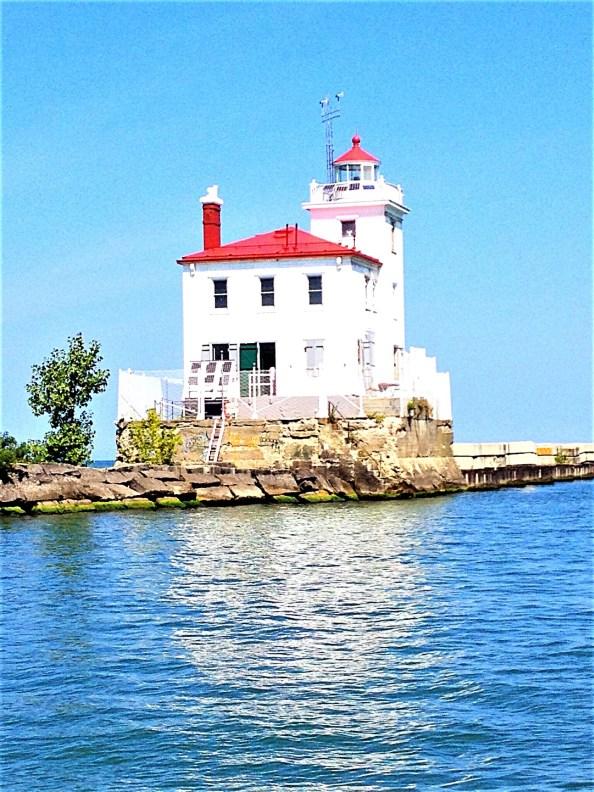 Lighthouse at Mentor Headlands, just east of Cleveland.