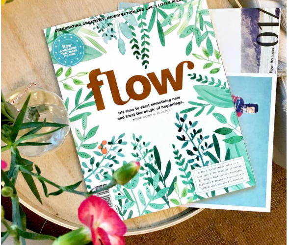 cover of flow magazine