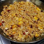 rice dressing with pomegranate arils