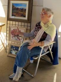 Ajo artist Diane Carnright