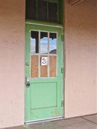 """""""Green door, what's that secret you're keepin'?"""""""