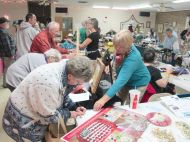 Ticket sales at the Why Craft Fair