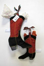 Christmas Boots (fabric), Joyce Chaney