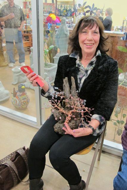 Jovita Wallace wins Sculpture by Freeman Fry