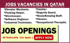 Find a job in Qatar by 2019