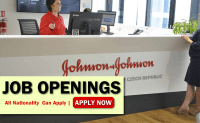 johnson & johnson Company Job Opportunities