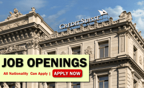 Credit Suisse Job Opportunities