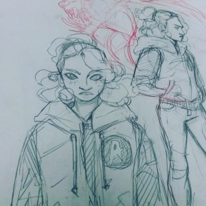 """character from personal project """"POLARITY"""""""