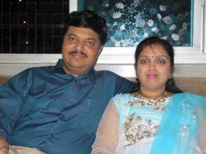 Anil and Chaya Shinde