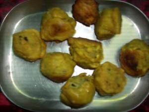 Herbal Potato Vadas