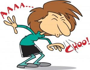 A Sneeze Sends the Virus 20 Feet Away