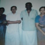 L to R: My Parents, my Uncle and his wife
