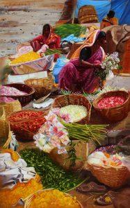 Painter Vivek Vadkar's Creation