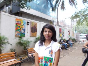 Naina Saraswat, Student