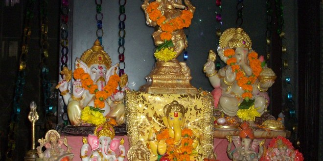 Beginners Celebrating Ganesh Chathurthi