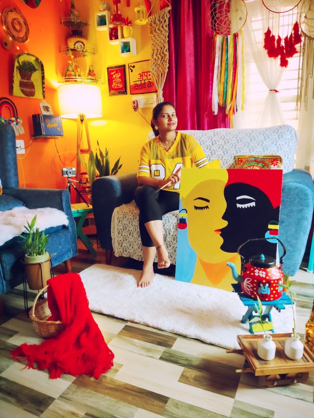 Amateur Artist Akanksha Tanwar Wants to Break into Business