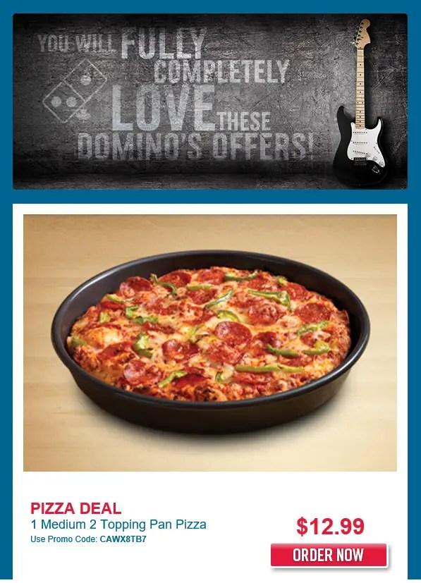 Dominos Offer Hip offer