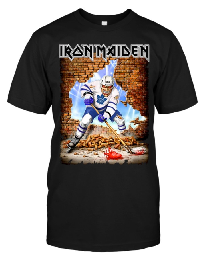A Journal of Musical ThingsIron Maiden-Themed NHL Shirts ...