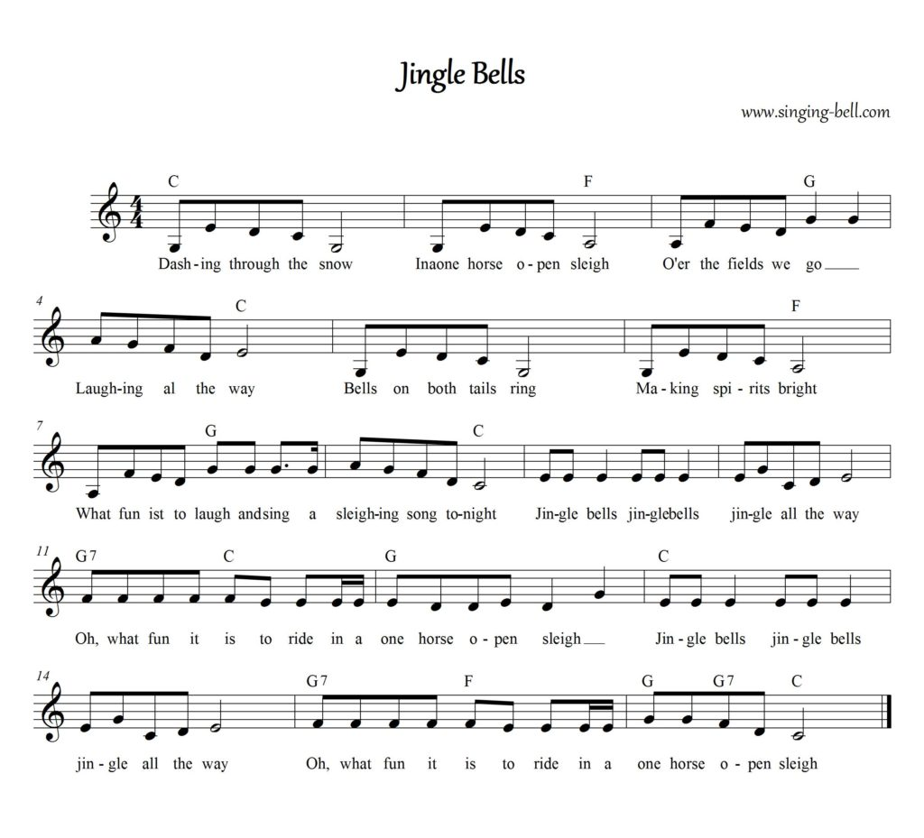 A Journal Of Musical Thingsnewsflash Jingle Bells Is A
