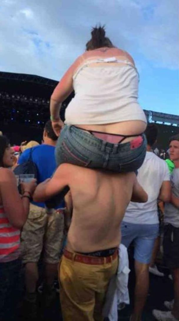 Peeing at concerts