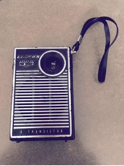 Lloyds transistor radio