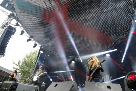 Nashville Pussy Heavy Montreal 2014 Photo by Eva Blue 11