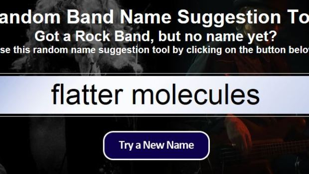 Band Name Generator – PhoneNinja
