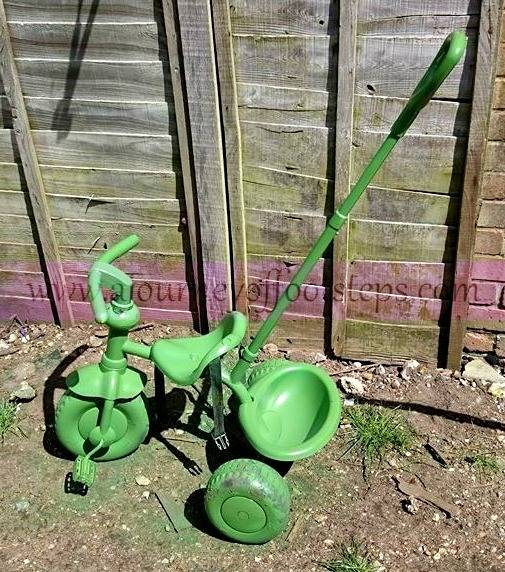 trike for Boo, Painting, upcycle, riding,