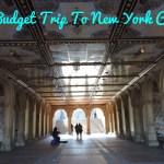 A budget trip to New York City