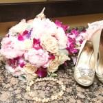 Bouquet, Shoes, & Rings