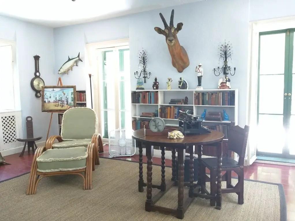 Inside the Ernest Hemingway House Key West