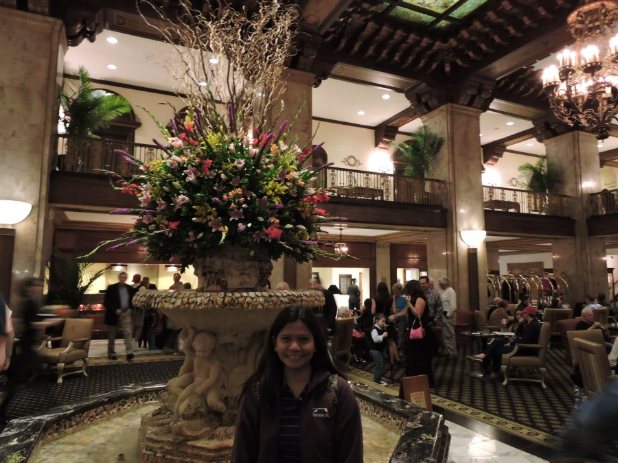 Ruby at the Peabody Hote