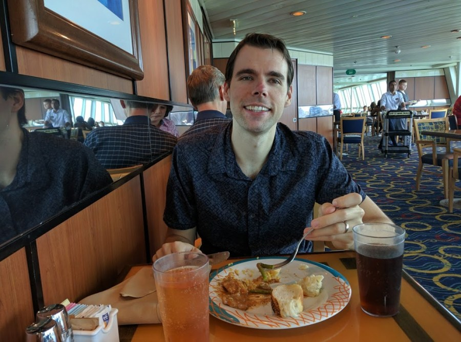 Food Time at our Royal Caribbean Cruise