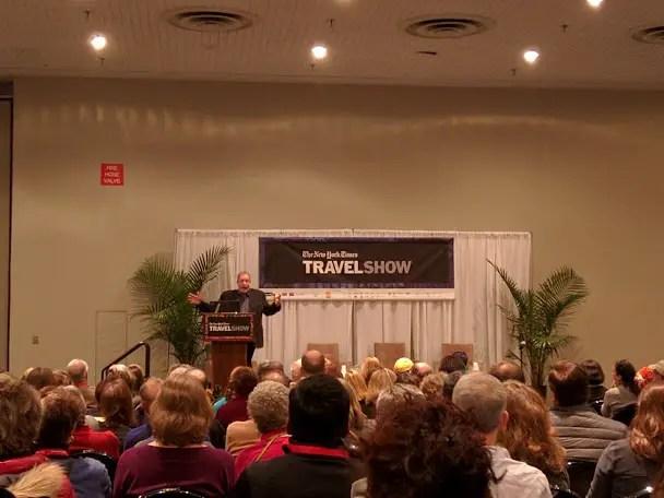 NY Times Travel Show Talk