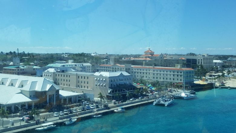 Arrival at Nassau, Bahamas