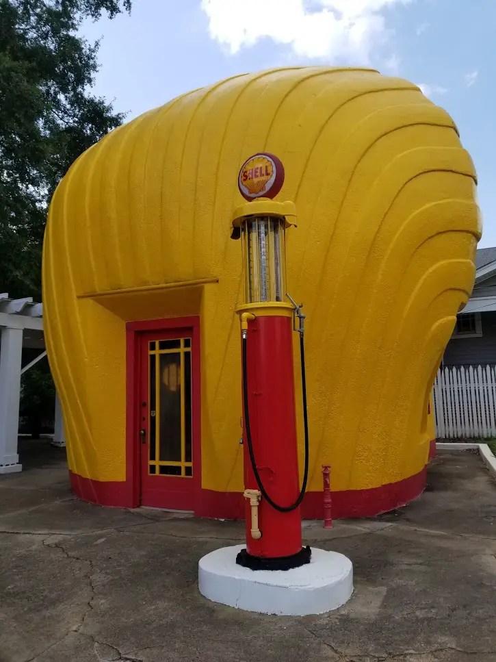 Shell Station in Winston Salem