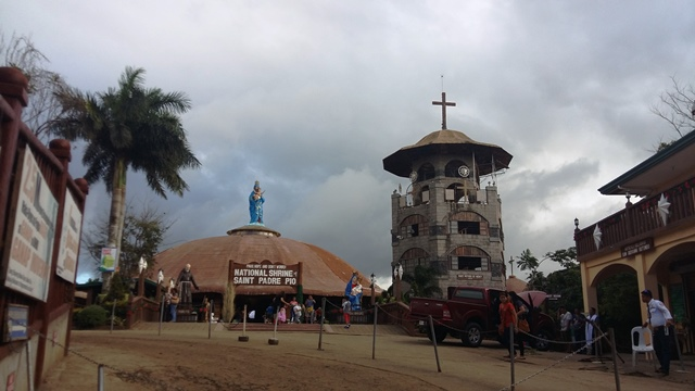 Padre Pio Shrine in Batangas