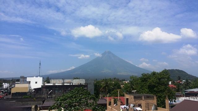 Legazpi City in Albay