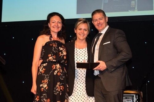 Member Pharmacy of the Year 2018: Oberon Pharmacy NSW - Owners Allison O'Driscoll (L) & Jennifer Stoneman (M) with Darren Dye, CEO Pharmacy Alliance