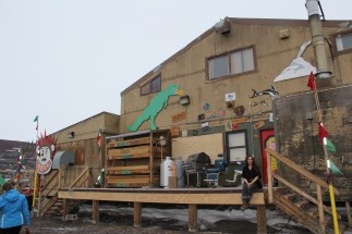 Building 191, The Carp Shop, hosts of the annual McMurdo Alternative Art Gallery, or MAAG. © A. Padilla