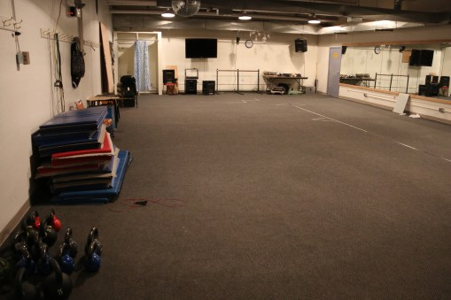 Back area of McMurdo's Fitness Room.