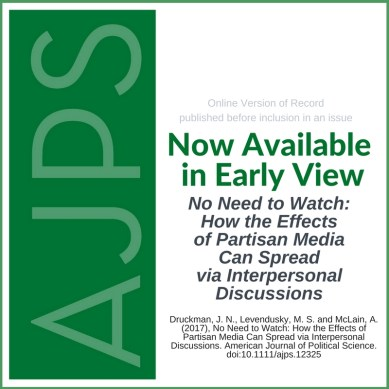 No Need to Watch: How the Effects of Partisan Media Can Spread via Interpersonal Discussions