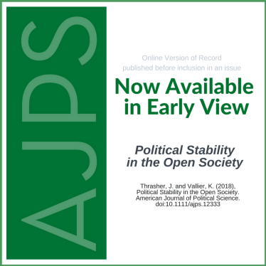 Political Stability in the Open Society