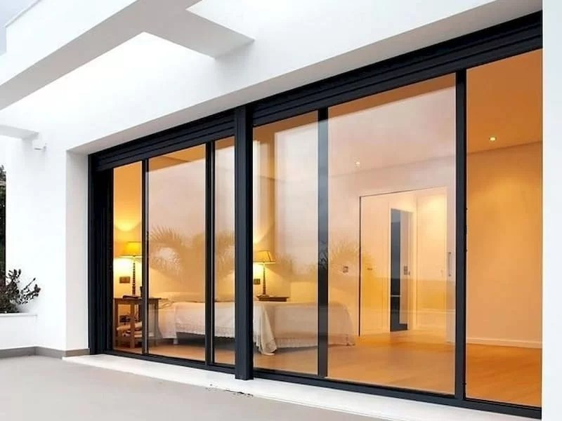 3 different types of glass doors that