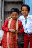 Boys in Dharavi Slum, Mumbai